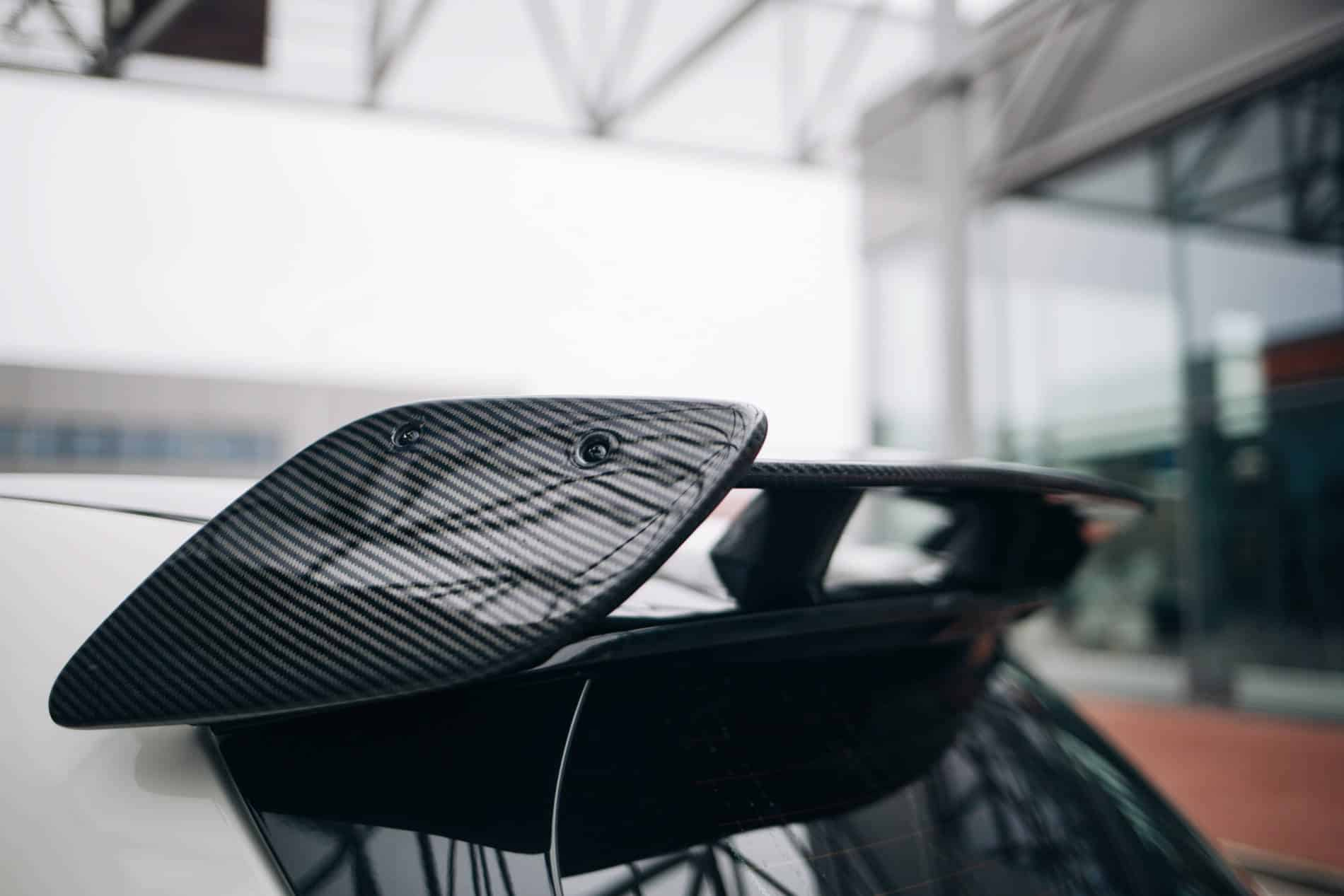 Carbonveredelung Spoiler A45 AMG