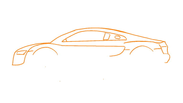 Audi R8 Silhouette