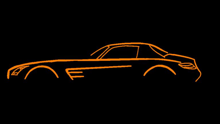 Mercedes SLS AMG Silhouette