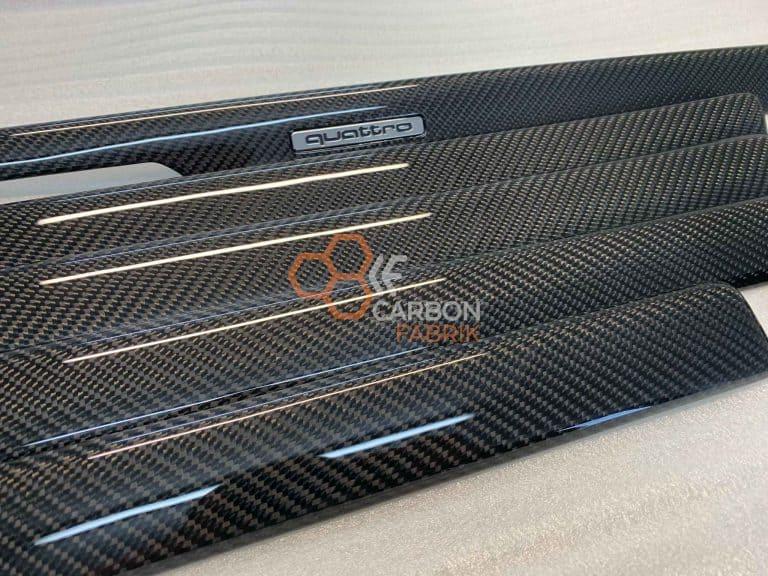 Audi A4 B5 Carbon Interiorleisten Dekorleisten 1