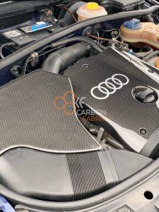 A4-B5-Motorabdeckung-Luftftilerkasten-Carbon