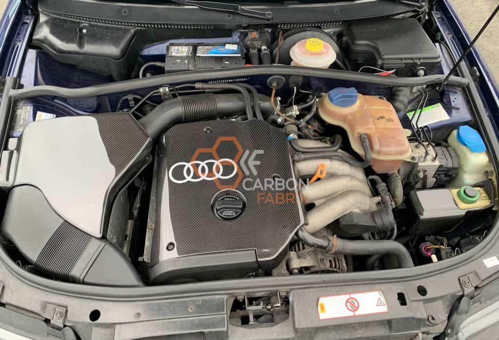 A4-B5-Motorabdeckung-Luftftilerkasten-Servoölabdeckung-Carbon
