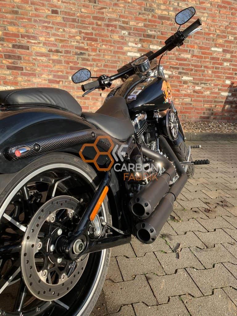 Harley Davidson Breakout Carbon Fenderstruts 2