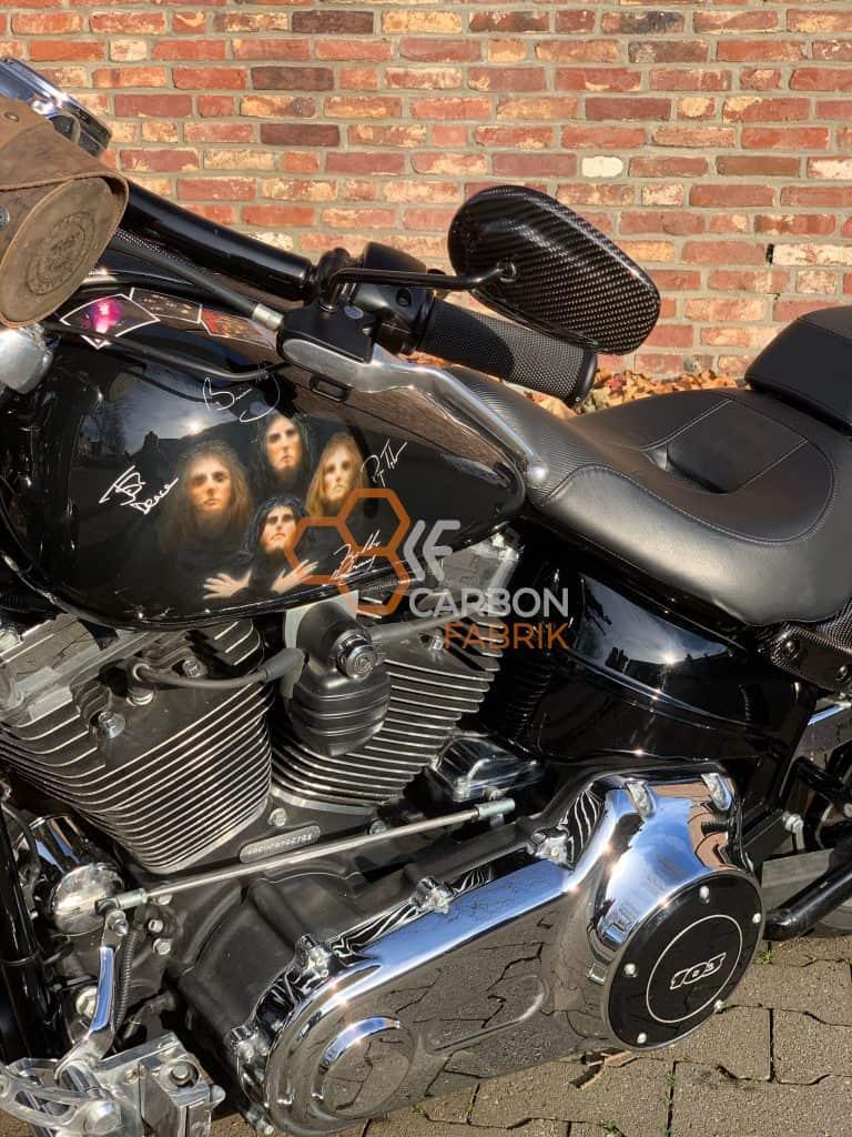 Harley Davidson Breakout Carbon Spiegelkappen