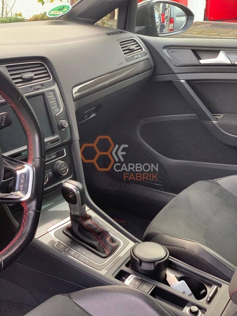 VW Golf 7 Carbon Dekorleiste3