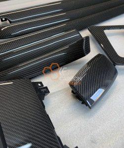 Audi-A4-B6-B7-Carbon-Dekorleisten-Interior-Interieur-1