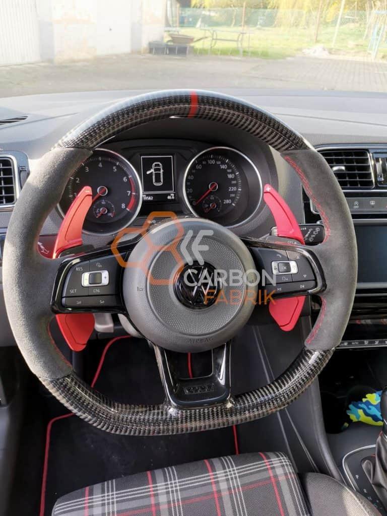 VW-POLO-GTI-CARBON-ALCANTARA-Lenkrad-Interior-Interieur-12-Uhr-Markierung