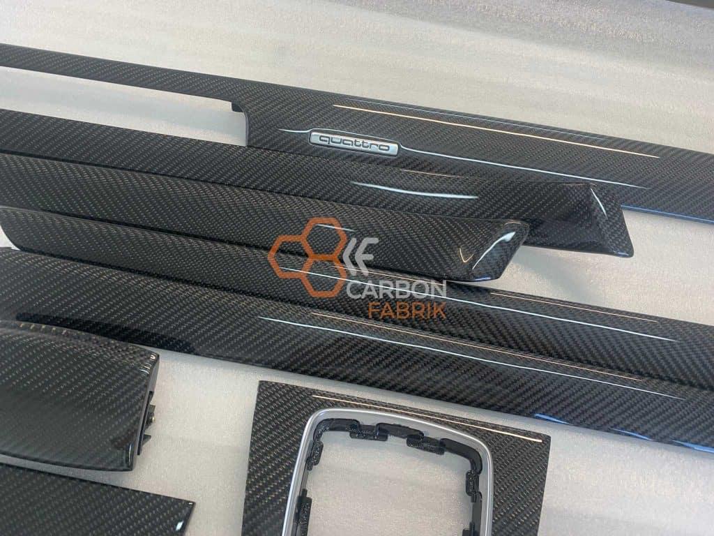 Audi A4 B6 B7 Quattro Carbon Dekorleisten