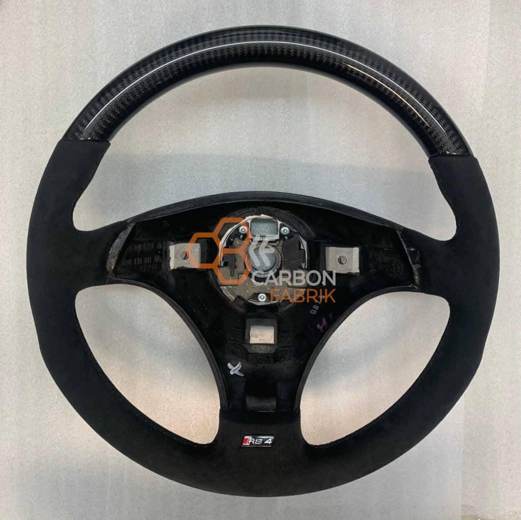 Audi-A4-S4-B5-Carbon-Lenkrad-Alcantara-1