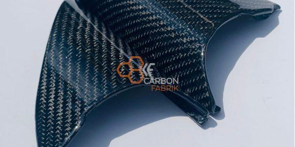 a4 s4 b5 Carbon Spiegeldreieck Innenspiegelabdeckung Makro